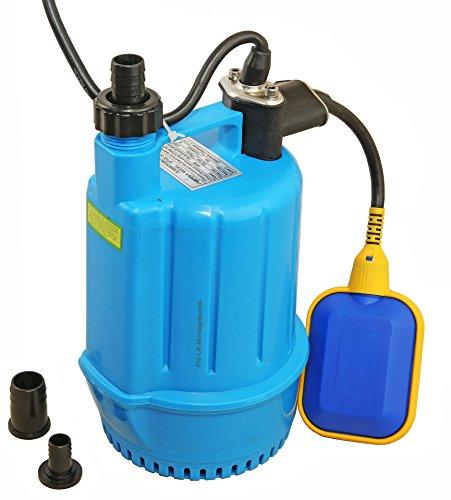 Pro-Lift-Werkzeuge Tauchpumpe mit Schwimmschalter 100W Gartenpumpe 50l/min Wasserpumpe 230V Bilgepumpe Brunnenpumpe Aquarium elektrische Pool-Pumpe