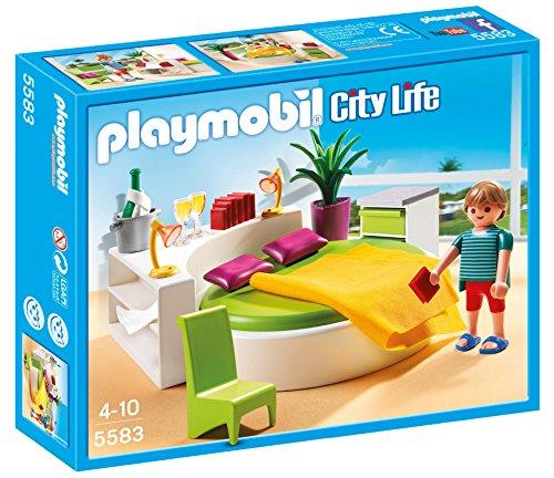 PLAYMOBIL Mansión Moderna de Lujo - Playset Dormitorio (5583)