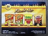 Frito-Lay Flamin Hot Mix 30 bolsas incluye Cheetos crujientes, Cheetos Limon Crujiente, Cebolla Funyuns, Fritos