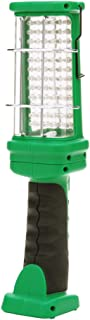 Designers Edge L1925 Rechargeable LED Handheld Work Light, Green, 72-LED