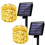 Mpow Solar String Lights, 33ft 100LED Outdoor String Lights,...