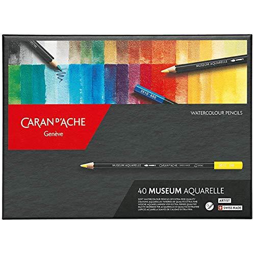 Caran d'Ache Museum Aquarelle 40 Pencils