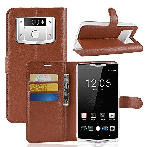 Litao-Case CN Hülle für OUKITEL K10000 pro hülle Flip Leder + TPU Silikon Fixierh Schutzhülle Case 2