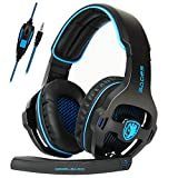 SADES Gaming Headset for Xbox One,PS4, PC Headphones with Microphone Mic for Nintendo Switch Playstation Computer, (Black)