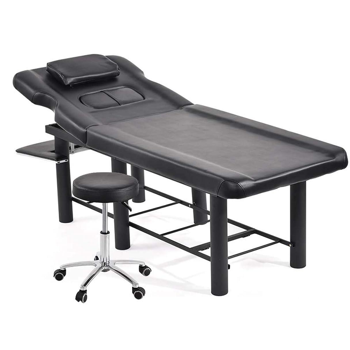 望ましい調子アルミ合金の回転椅子が付いている携帯用折るマッサージのテーブルの専門のマッサージのベッド