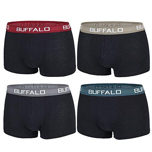 Buffalo Hipster, Herren Boxershorts (M)