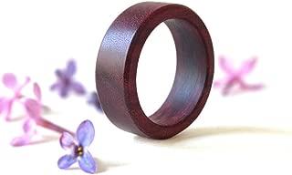 Best purple heart wood ring Reviews