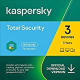 Kaspersky Total Security 2021   3 Devices   3 Years   PC/Mac/Android   Online Code