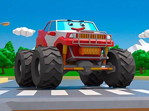 Lustiger Monster Truck