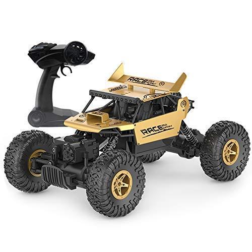 LIUCHANG 01.18 Legierung 2.4G 4WD Antrieb Offroad-Berg RC Auto RTR golden Neujahr, Geburtstag Jungen und Mädchen Kinderspielzeug, liuchang20 (Color : Twosets)