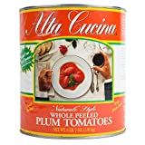 Alta Cucina Whole Plum Tomatoes #10, Pack of 6