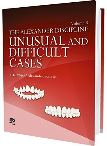 The Alexander Discipline, Vol 3: Unusual and Difficult Cases by R.G. Wick Alexander(2016-02-15)の詳細を見る