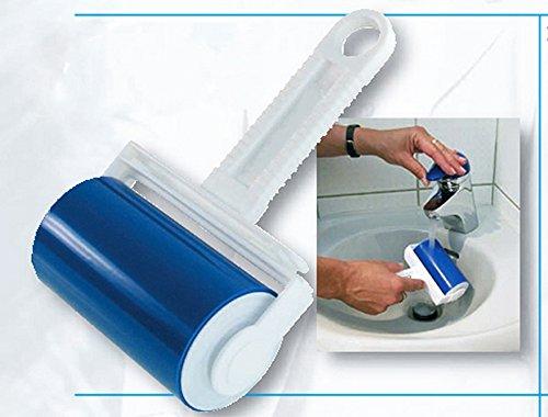 DAUERFUSSELROLLER abwaschbar Fusselroller Kleiderrolle Kleiderbürste Bürste E71