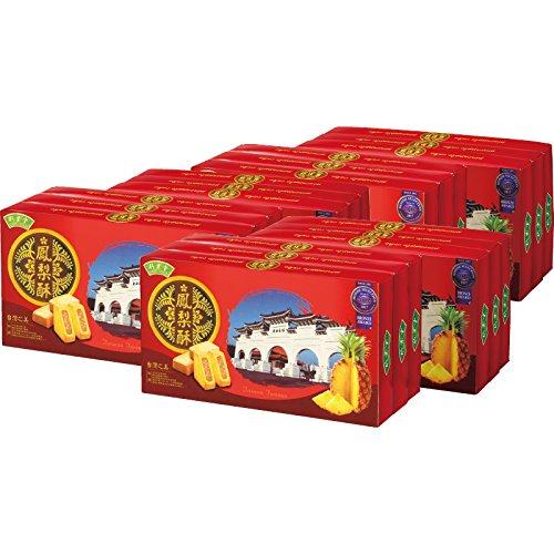 台湾 土産 台湾 パイナップルケーキ(袋付) 18箱セット (海外旅行 台湾 お土産)