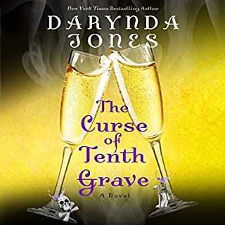 The Curse of Tenth Grave audiobook cover art