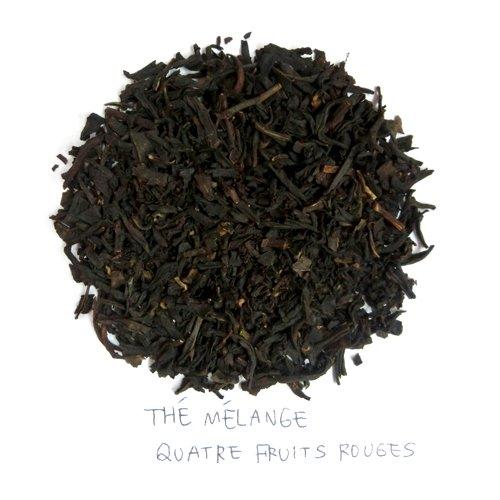 エディアール紅茶 HEDIARD 4レッドフルーツ 茶葉 125g