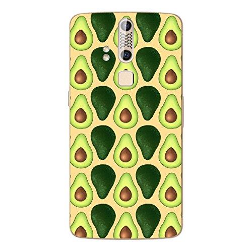 Disagu SF-106600_1120 Design Folie für ZTE Axon Elite - Motiv Avocados Lined orange