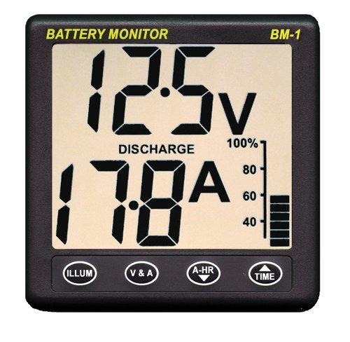 Nasa Batteriemonitor BM1, 24 V DC, dunkelgrau