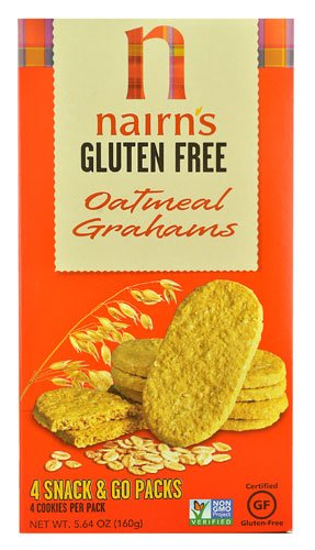 Nairn's Gluten Free Oatmeal Cookies Graham -- 5.64 oz (Pack of 1)