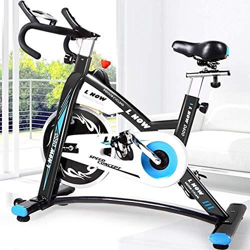 Nuokix Prima de Cubierta Entrenamiento aeróbico Ciclo de la Bici de Ejercicio Cardio Fitness máquina de Ejercicios con el Sensor de la Mano y el Asiento Suave Mejorada Cardio Training elípticas