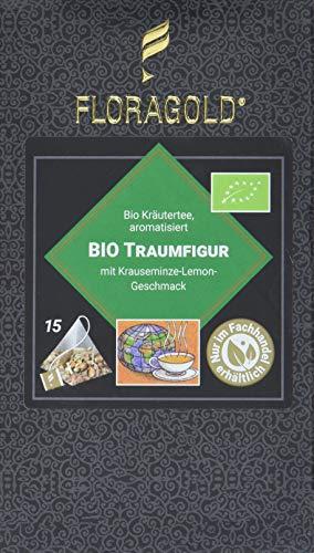 FLORAGOLD Pyramidenbeutel Kräutertee Bio Traumfigur, 1er Pack (1 x 38 g)
