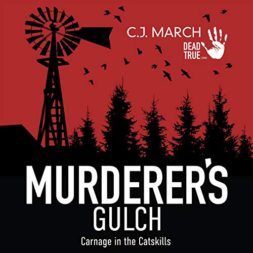 Murderer's Gulch audiobook cover art