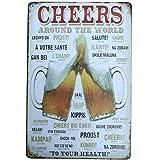 fablcrew Blechschild Metall Werbung Wand Schild Bier für