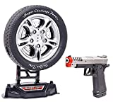 zest 4 toyz laser target gun toy shooting game with music and lights, hoot game with infrared gun- Multi color