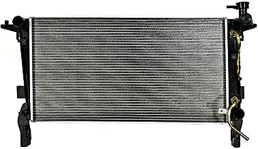 OCPTY Aluminum Radiator Replacement fit for 13120 2010-2012 Hyundai Genesis Coupe GT/Premium/R-Spec,2010 Hyundai Genesis Coupe 2.0T