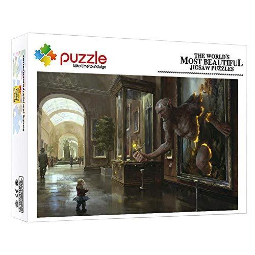 ZTCLXJ Puzzles De 1000 Piece Niña Y Gigante 1000 Piezas Puzzle Rompecabezas Puzzle para Infantiles Adolescentes Educativos para Bebé para Ocio Y Entretenimiento 20 X 15 Pulgada