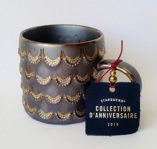 Starbucks 2015 Golden Scales Anniversary Mug, 10 Fl Oz