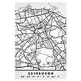 artboxONE Poster 30x20 cm Schwarzweiß Edinburgh Scotland