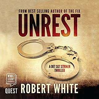 Unrest audiobook cover art