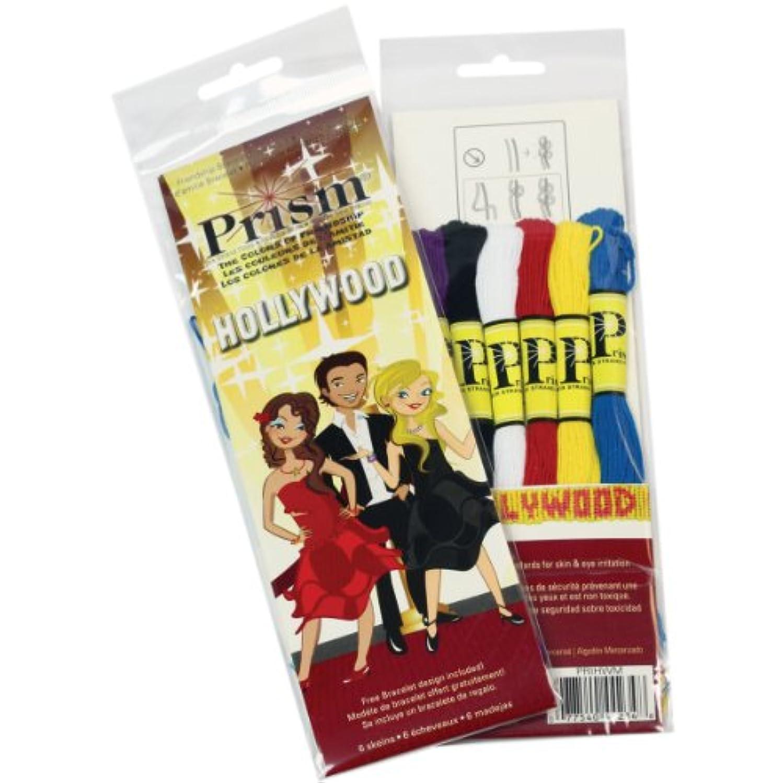 DMC Prism Six-Strand Mini Floss Packs, 6 Per Package, Hollywood