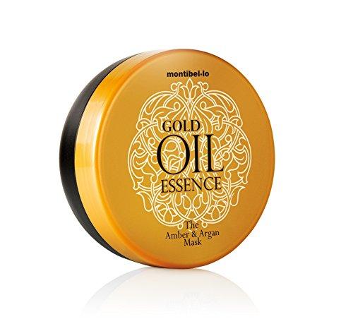 Montibello Instant Amber Gold Oil Essence Masque ambre et argan 200 ml
