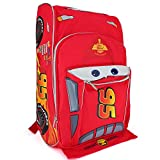 Trendy Apparel Shop Kid's Boys 95 Radiator Springs Car Shaped 16' Backpack - Red