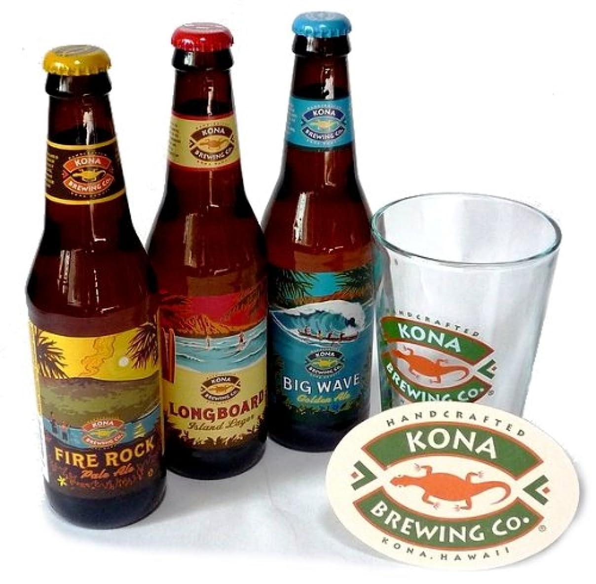 憂慮すべき控える喜ぶコナビール 定番3種9本 + グラス?コースターセット