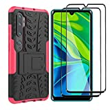 HAOYE Case for Xiaomi Mi Note 10 Pro Case and 2 Screen