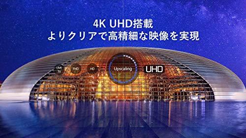 『TCL 50V型 4K液晶テレビ 50K601U HDR搭載 鮮やかな色彩 裏番組録画対応 2019年50インチモデル 50K601U』の3枚目の画像