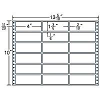 東洋印刷 タックフォームラベル 13 5/10インチ ×10インチ 18面付(1ケース500折) M13I