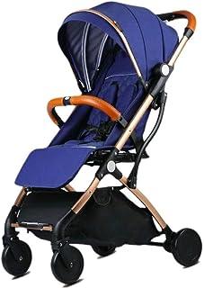 Baby Stroller, Baby Car, Ultra-Light Portable, Reclining, Easy Folding, Newborn Baby Stroller, Umbrella (Color : E)