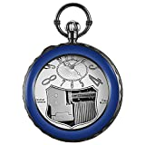 Unique Musical Pocket Watch with Chain Musical Movement Pocket Watch Art Collectibles Best Gifts for Birthday