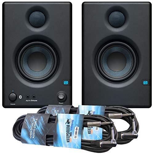 Presonus Eris 3.5 BT Aktive Monitor-Boxen mit Bluetooth + 2x keepdrum Klinkenkabel 6m