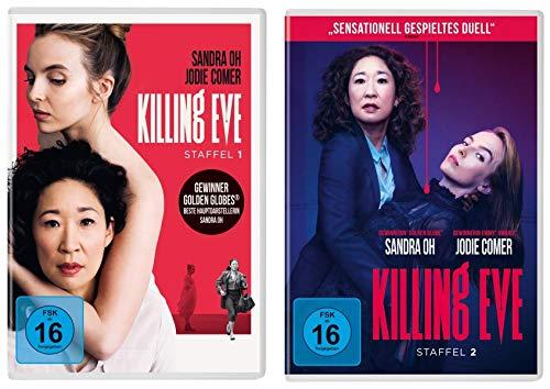 Killing Eve - Staffel 1+2 (4 DVDs)