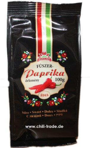 Ungarische Paprika aus Kalocsa edelsüß 100g - Delikatess Paprika Pulver
