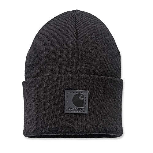 Carhartt Mens Black Label Watch Acrylic Beanier Hat