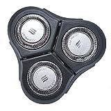 RQ11 Cuchilla de Afeitar de Repuesto Compatible con Phi-lips Norelco RQ11 Sensotouch 2D - Cabezales de Afeitado de Recambio Poweka Compatible con Phi-lips Maquinilla de Afeitar