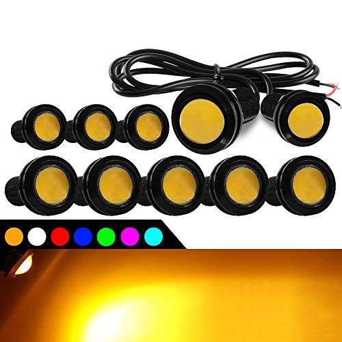 WOVELOT Household 3Mm Diameter Led Light Holder Shell Shell Nero 50 Pezzi