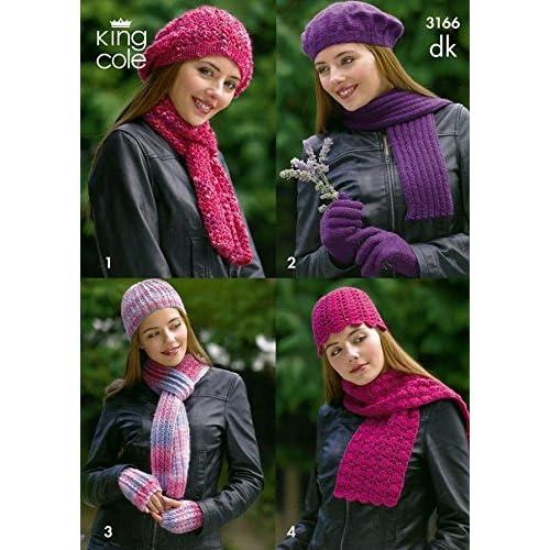 Hat And Scarf Knitting Patterns Amazon Co Uk