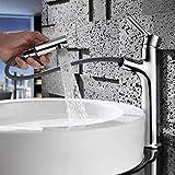 Un puñado naval grifo de la bañera con el aerosol de un disipador de sofás accesorios batidora de mano para la cocina baño baño, cromo